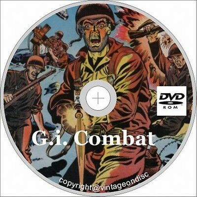 G.I. Combat Issues 1-288 On Dvd Rom