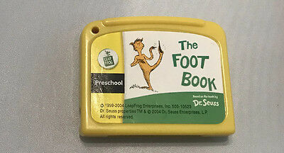 My First LeapPad The Foot Book / Preschool - Cartridge Only Leap Frog Dr Seuss