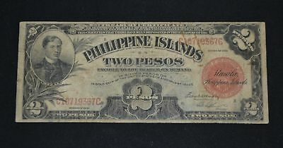 West Point Coins ~ Philippine Islands Two Pesos $2 Dollar 1929 #74b