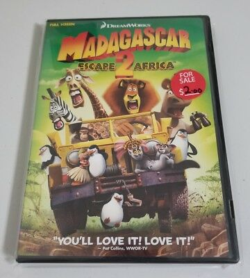 Madagascar 2 Escape 2 Africa Full Screen Edition Used DVD