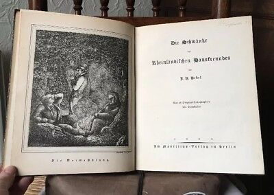 1922  GERMAN BOOK with 32 Engraved plates all very clean - please view details.