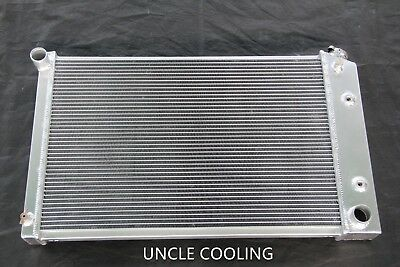 """3 ROWS 26/"""" WIDE CORE ALL ALUMINUM RADIATOR FIT CHEVY CAMARO MANY GM CARS TRUCKS"""
