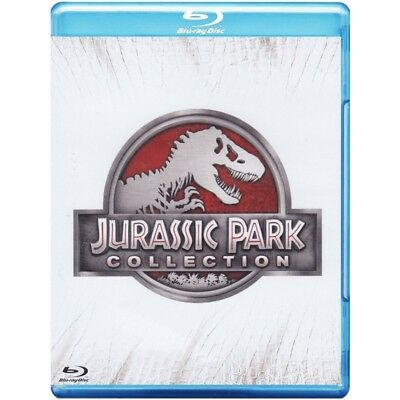 Jurassic Park Collection (4 Blu-Ray) Blu-Ray 5053083054922