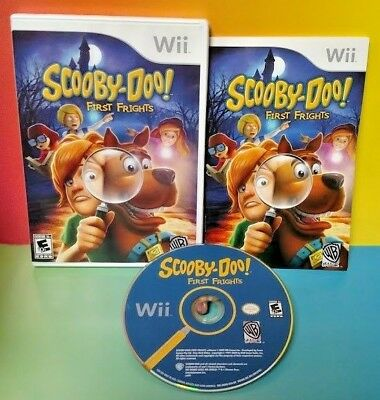 Scooby-Doo First Frights - Nintendo Wii & Wii U Game Rare COMPLETE Rare