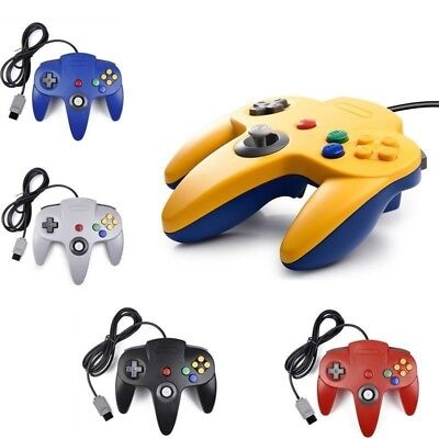 Wired Controllers Joystick Gamepad For N64 Console Game System Control Game