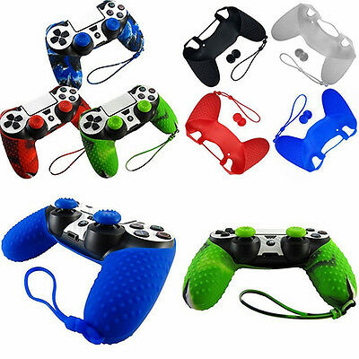 NUOVO_silicone custodia cover sottile per Playstation PS4 CONTROLLER JOYPAD