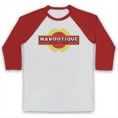 Nabootique Unofficial The Mighty Boosh Naboo Comedy Tv 3/4 Sleeve Baseball Tee