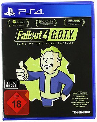 PS4 Spiel Fallout 4 - Game of the Year Edition GOTY NEUWARE