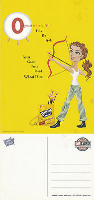 Nabisco Wheat Thins Unused Advertising Colour  Postcard