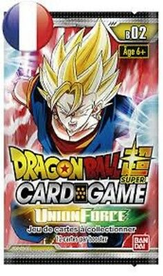 Dragon Ball Super Card Game  : Booster  Union Force - série 2 VF - Neuf