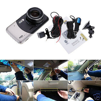 1 Set 1080P Car DVR Rear View Camera Dash Cam G-sensor Infrared Night Vision
