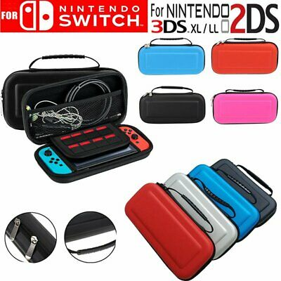 For Nintendo Switch Console Travel Hard Bag Carry Case Cover & Screen Protector