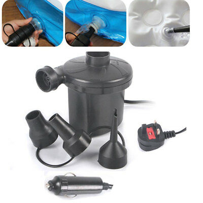 NEW 240V Electric Air Pump Inflator For Inflatables Airbeds Pools Sofa Toys Camp