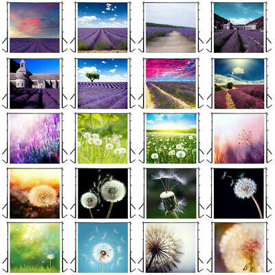 3x3ft Flowers Garden Photography Backdrop Brick Wall Stage Photo Background Prop