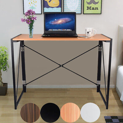 Foldable Computer Desk Folding Laptop PC Table Home Office Study Save Space