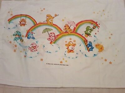 Vintage Care Bears Ann Pillow Case Pillowcase American Greetings Corp
