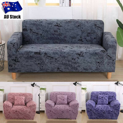 1 2 3 Seater Sofa Stretch Cover Lounge Fit Couch Removable Protector Slipcover