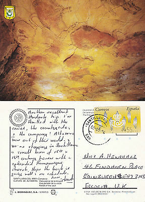 1994 Cave Of Altamira Santillana Del Mar Spain Colour Postcard