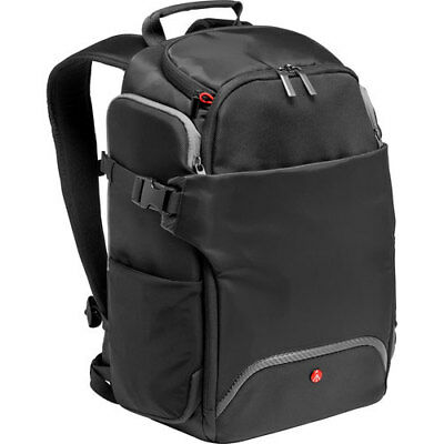 Manfrotto Rear Access Advanced Camera and Laptop Backpack - Black