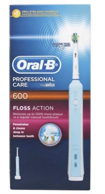 Oral B Professional Care 600 Floss action Electric Toothbrush