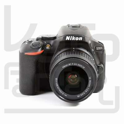 NUEVO Nikon D5600 Digital SLR Camera + AF-P DX Nikkor 18-55mm f/3.5-5.6G VR