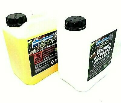 Rhino Goo 5 Ltr Cleaner + 5Ltr Rhino Shine Motox Mx Enduro Bike Cleaner