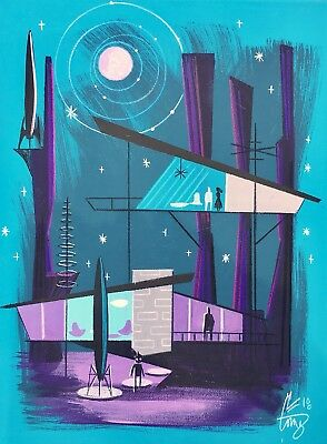 El Gato Gomez Retro Sci-Fi Outer Space Mid Century Modern Atomic Ranch House
