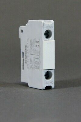 Siemens - Auxiliary Contact Unit 1S - 3TX4 010-2A