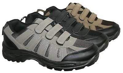 Mens Lightweight Active Walking Hiking Work Trainer In 3 Colours Sizes 7-11