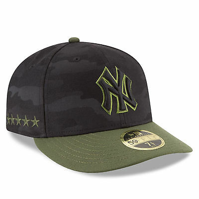 New York Yankees 2018 Memorial Day On-Field Low Profile 59FIFTY Fitted Cap 20af989e7c82
