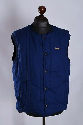 Men's Barbour Vintage Gilet Bodywarmer Jacket Size S M Genuine #