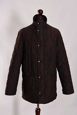 Men's Barbour Hampton Quilt Jacket Size M L Genuine Casual