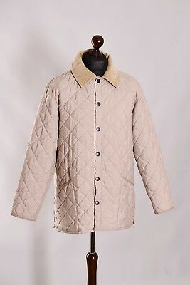 Men's Barbour Classic Eskdale Quilt Jacket Size M L Genuine Casual