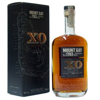 Mount Gay 1703 XO Reserve Cask + GB 700ml 43% Vol.