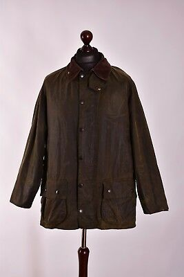 Men's Barbour Beaufort Vintage Jacket Size C44 / 112cm Genuine Casual Waxed