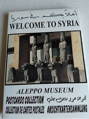 Aleppo Museum Postcards Collection 19 Cards Welcome to Syria
