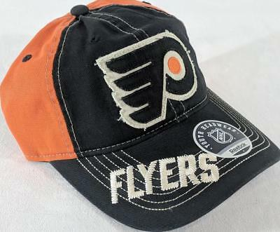 fb1ec7dd836 LZ Reebok Youth One Size OSFA Philadelphia Flyers NHL Baseball Hat Cap NEW  E96