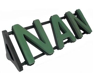NAN Floral Foam Funeral Tribute Frame Comes with Stand Premier Florist Foam