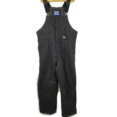Walls Work Wear Mens Overalls Size XL Coveralls Black Insulated Cotton