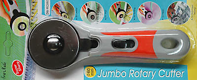 Sew Mate Jumbo 60mm Rotary Cutter craft Quilting Card Making Etc - BLB632