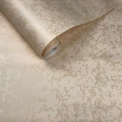 10m old vintage paper Marble Wallpaper rolls beige cream plain wall coverings