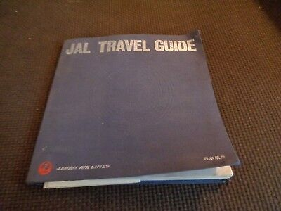 Vintage Japan Air Lines JAL Travel Guide 1965 Route Map Book