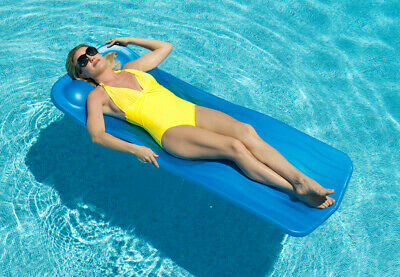 NON INFLATABLE QUALITY Swimming Pool Float Foam Mattress Lounge ...