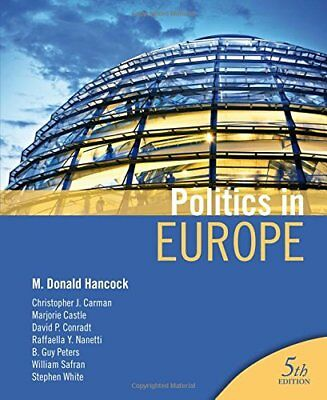 Politics in Europe by Safran, William N. Paperback Book The Cheap Fast Free Post