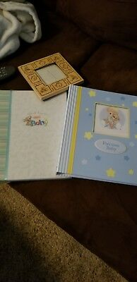 Baby Memory Books & Picture Frame