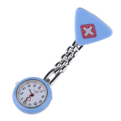 Retro Cross Pendant Clip-On Hanging Nurses Quartz Watch Watches Battery Powered