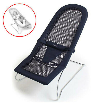 Vee Bee Serenity Navy Infant Baby Bouncer Chair/Seat/Bouncing/Rocking/Newborn
