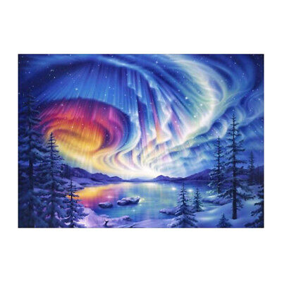 Full Drill DIY 5D Diamond Painting Creative Landscape Embroidery Rhinestone Art