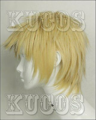 K RETURN OF KINGS Blonde short wig cosplay wig Anime haar