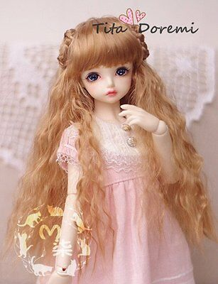 BJD Doll Wig SD Pullip Blythe Luts DD AOD DOC AE DZ MSD Dal Toy/ Head brown